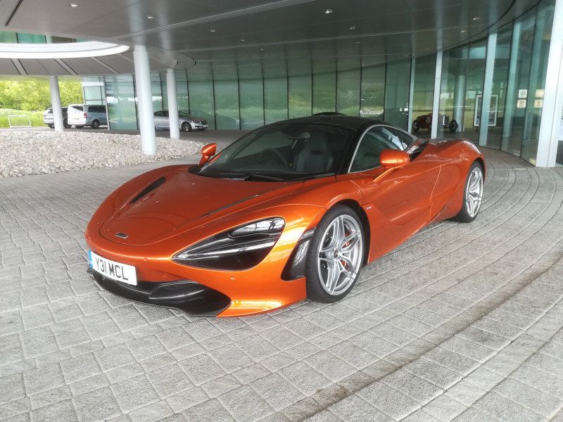McLaren Executive Car Hire Ashford