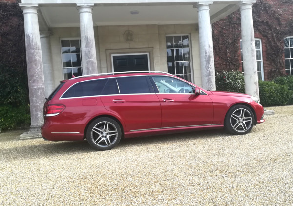 Mercedes E-class estate - just one of our Premium spec. Mercedes cars